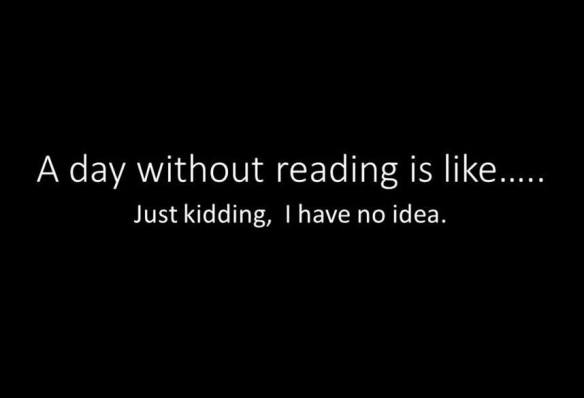 day without reading